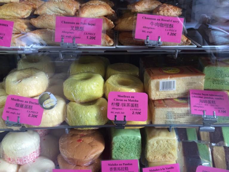 Bao et gâteaux de la Pâtisserie de Choisy