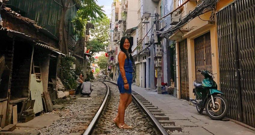 Guide Hanoi La Rue Du Train